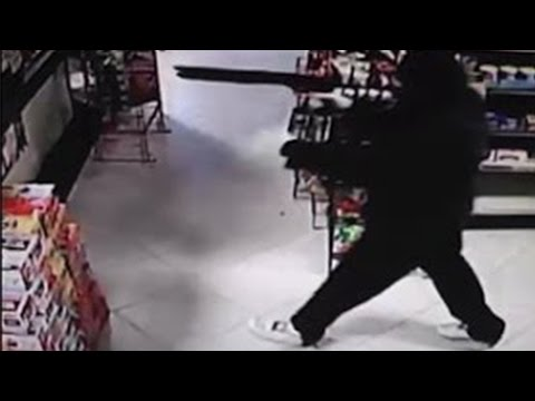 Self defense: Strong-armed clerks fight robberies; Retired cop denies carjacker - Compilation