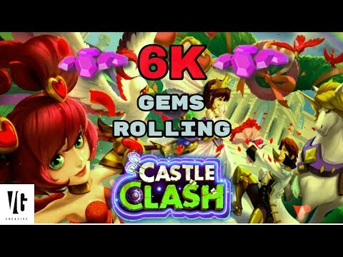 Castle Clash Rolling For Dove Keeper!!
