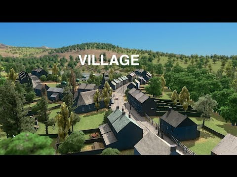 Building a Belgium Style Village | Cities: Skylines Mp3