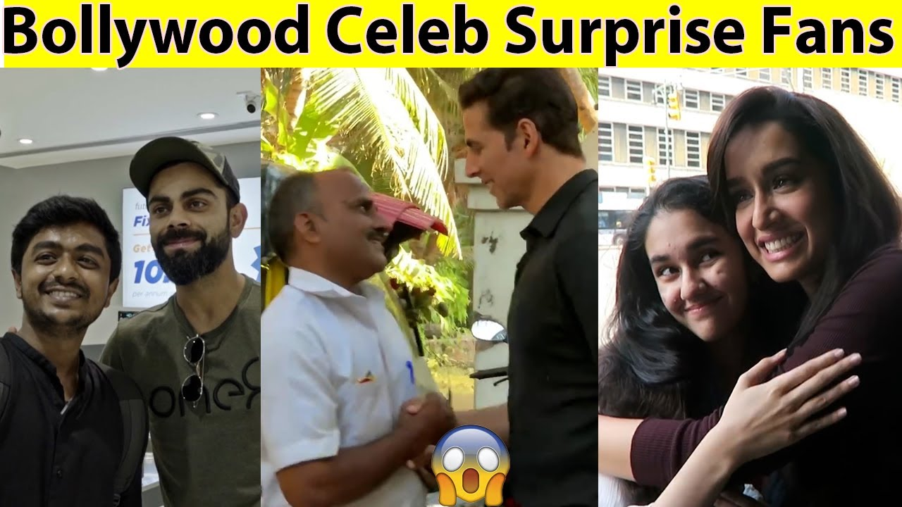 Download 10 Famous Indian/Bollywood Celebrities Who Surprised Their Fans in Public in Hindi (Msb Facts)