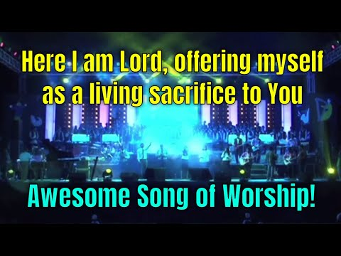 HERE I AM LORD - Awesome Christian Worship Song from the Tamjid-e-Khuda Worship Concert