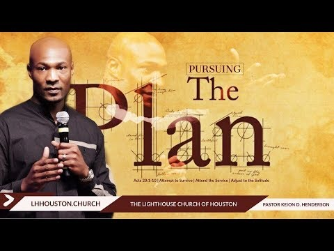 Download Pursuing the plan   Pastor Keion Henderson