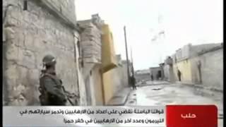 Syria Aleppo بطولات الجيش العربي السوري في حلب 12-11-2012
