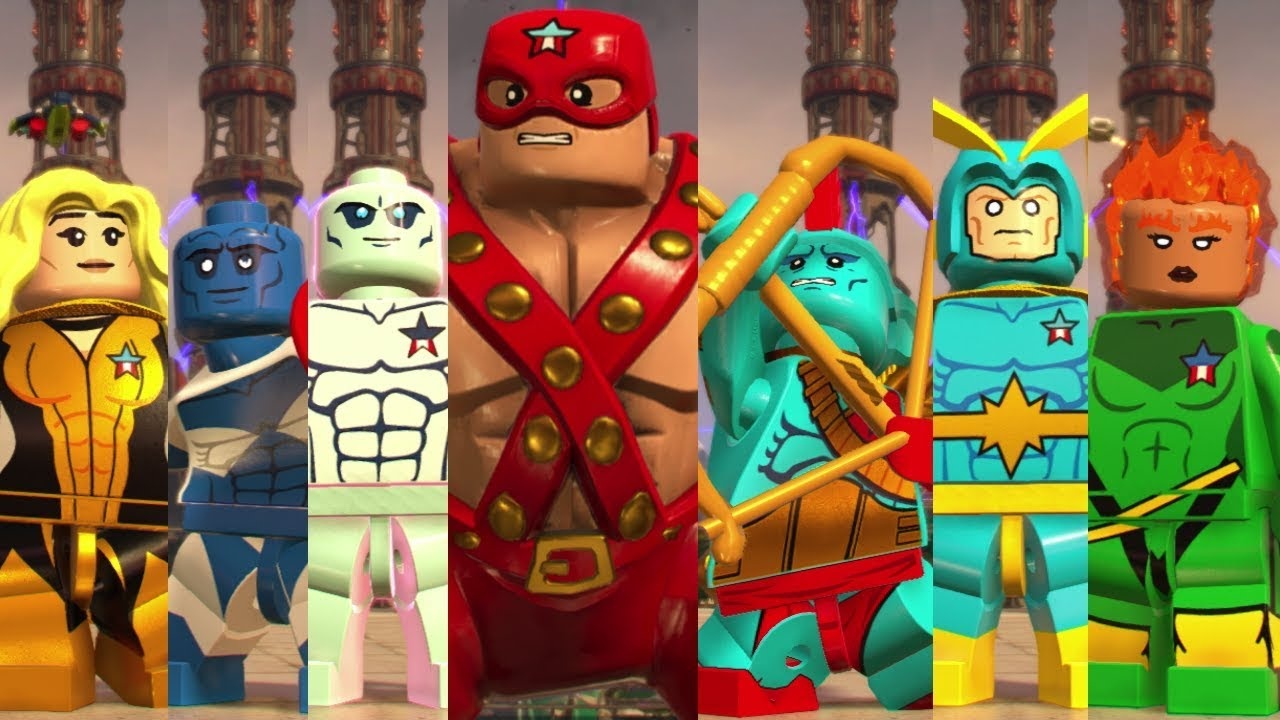 All Classic Guardians Of The Galaxy Characters In Lego Marvel Super Heroes 2 Youtube