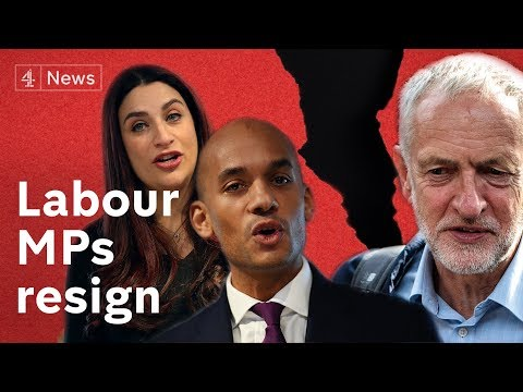 Seven Labour MPs resign from party over Corbyn's leadership
