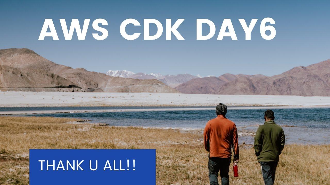 How to use AWS CDK? | 如何使用AWS CDK來開發 【DAY - 06】