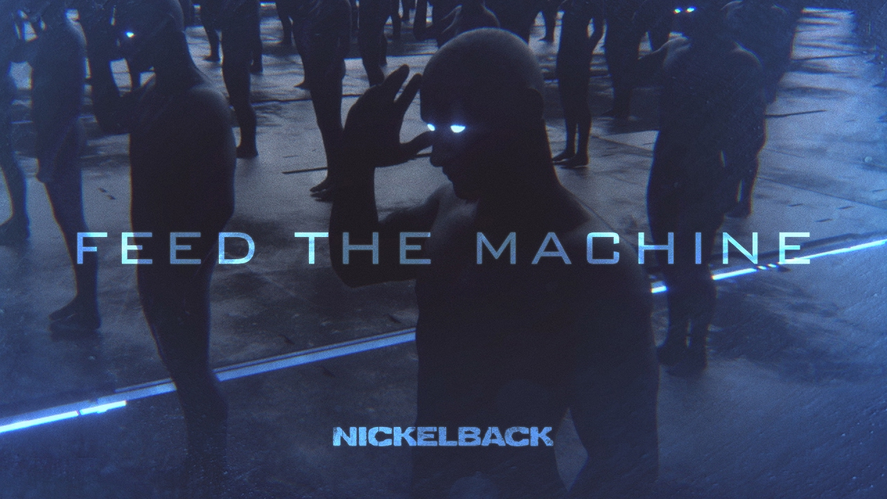 Nickelback feed the machine lyric video youtube m4hsunfo