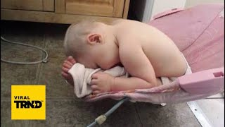 Funny Babies Can Fall Asleep In Every Situation Compilation 2018 Viral TRND Videos