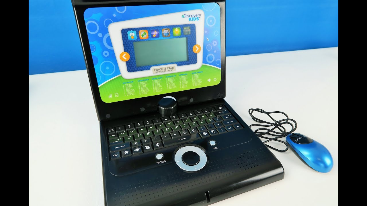 Discovery Kids Teach & Talk Exploration Laptop Unboxing