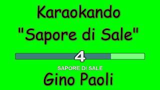 Karaoke Italiano - Sapore di Sale - Gino Paoli ( Testo )