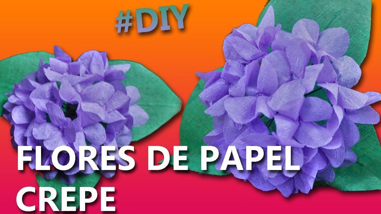 Como hacer flores de papel crepe f ciles y bonitas paso - Como hacer cosas de papel paso a paso faciles ...