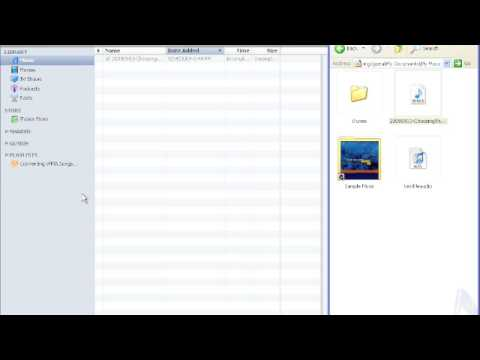 Convert WMA to MP3 with iTunes for podcasting
