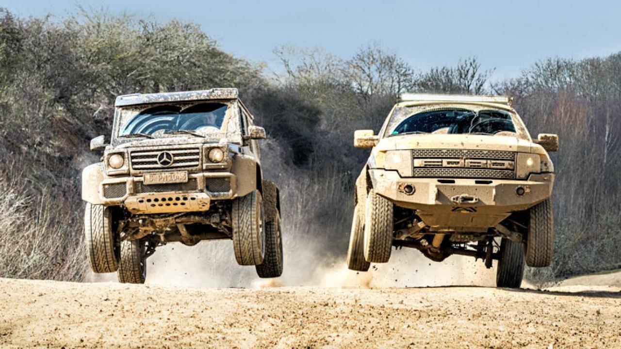 Mercedes Benz G55 Vs Ford Raptor Youtube