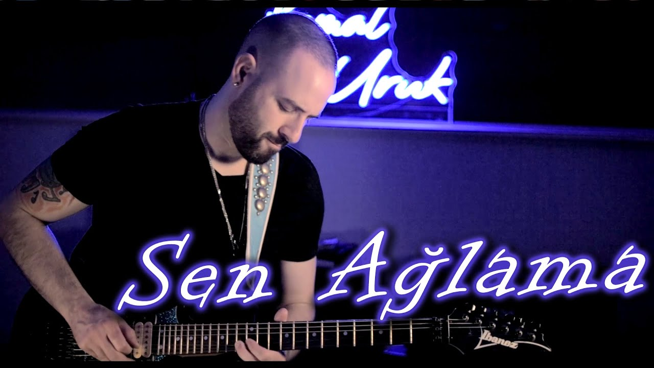Sen Ağlama - Badem (Kemal Uruk Cover) Elektro Gitar Solo
