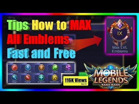 Pabilisin ang pag Max ng Emblems mo sa Mobile Legends BANG BANG thumbnail