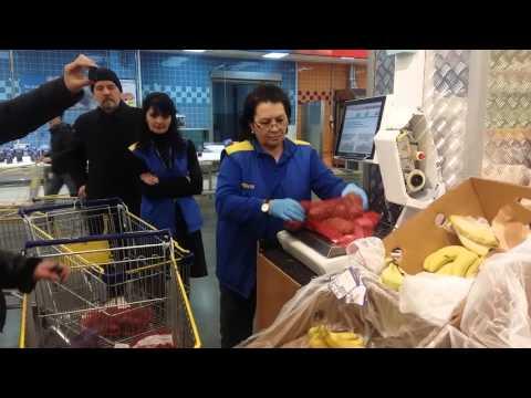 Обман покупателей в гипермаркете Лента, Волгоград