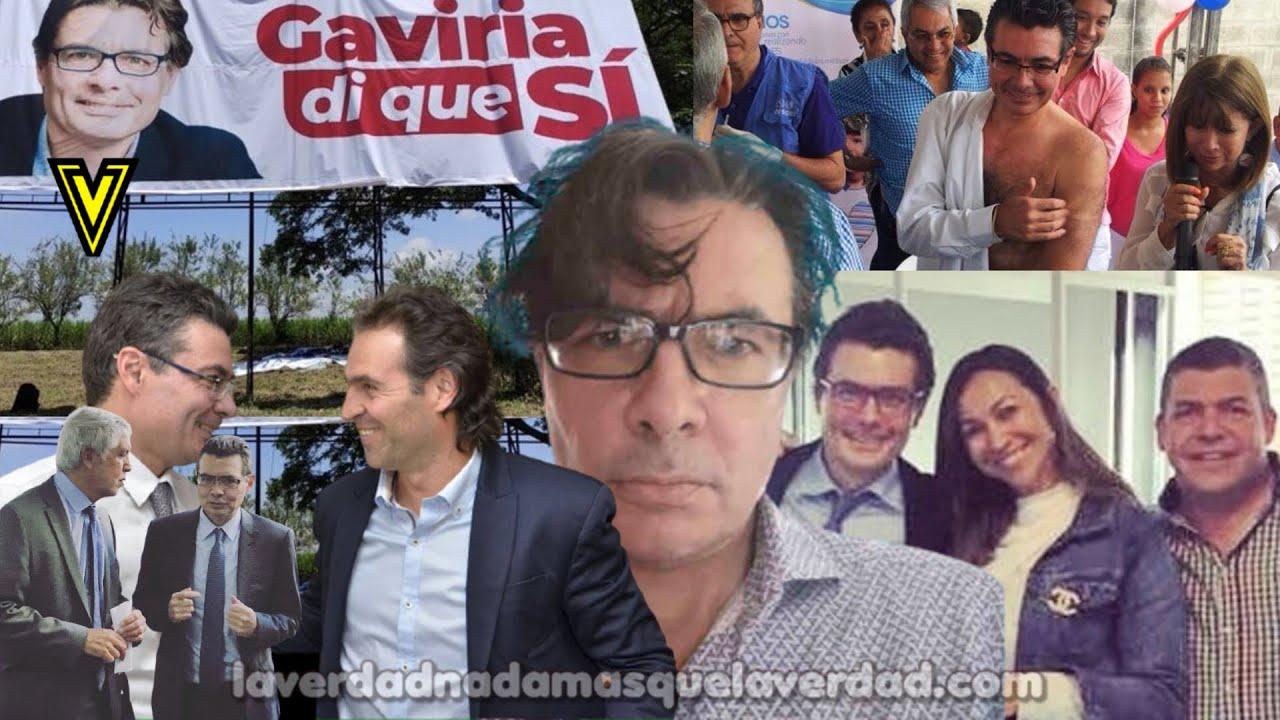 LA VERDADERA CARA DE ALEJANDRO GAVIRIA URIBE LA MORALIDAD EN PASTA