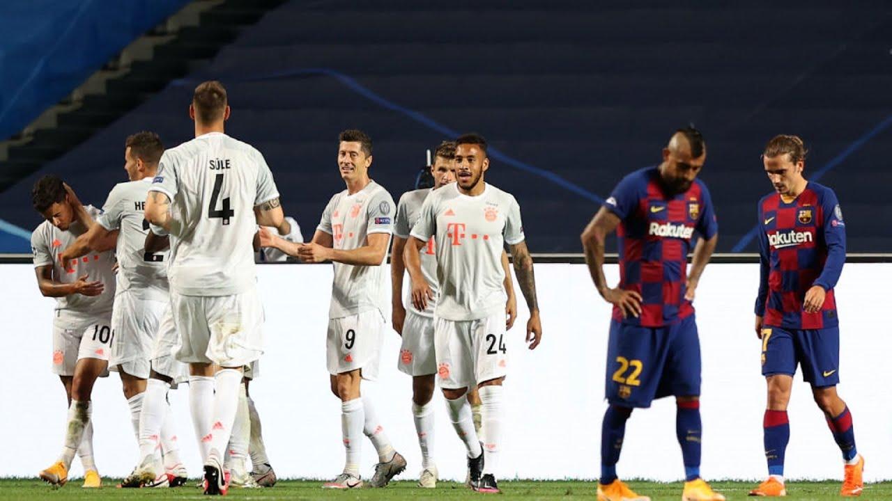 UEFA Champions League | QF |  FC Barcelona v Bayern Munich | Highlights