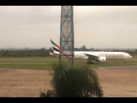 Boeing 777-300 in lusaka