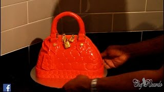 LOUIS VUITTON HAND BAG Cake Top Jamaican Chef