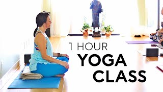 Live Yoga Class 💕(1 Hour) To Handstands | Fightmaster Yoga