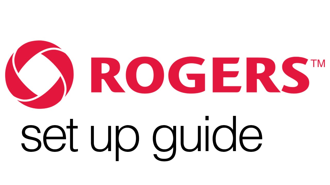 Rogers How To Set Up Routermodem Guide Youtube