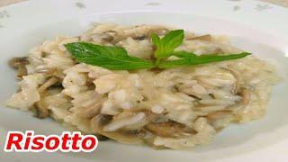 Risotto nasıl yapılır / Mantarlı risotto tarifi / ALKOLSÜZ / Tatiananın mutfağı / РИЗОТТО