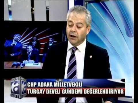 Turgay Develi Adana Akdeniz Tv  Ana haber bülteninde, Gündemi Değerlendirdi.