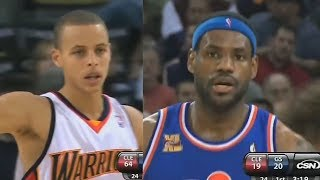 The First Time Stephen Curry And LeBron James Met In The NBA!