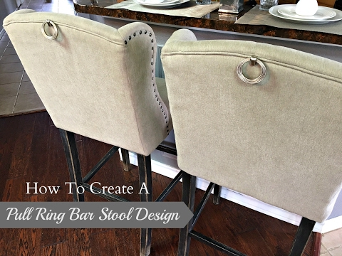 New Diy How To Create A Pull Ring Bar Stool Design Youtube