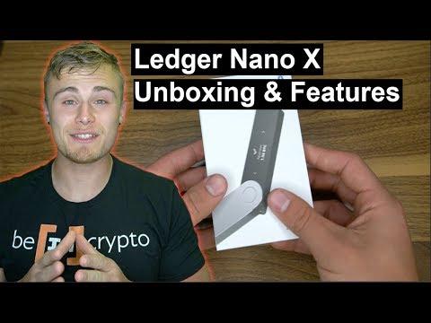 Ledger Nano X Unboxing & Main Features