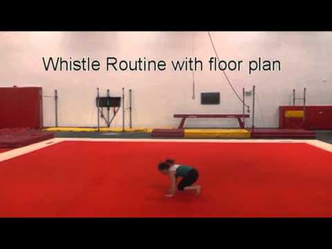 National Level 4   Whistle Routine