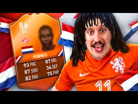 OMG THIS CARD IS AMAZING! THE BEST DUTCH STRIKER IN FIFA?! FIFA 17 ULTIMATE TEAM