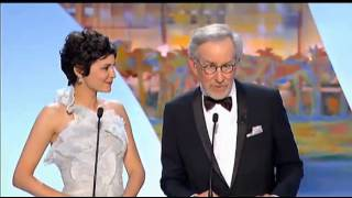 Audrey Tautou at Cannes 2013 opening (english translation)