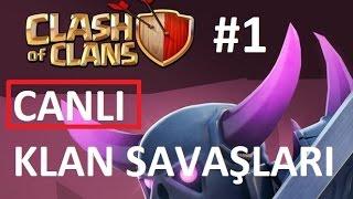 Clash Of Clans - CANLI Klan Savaşları th9, th7, th6
