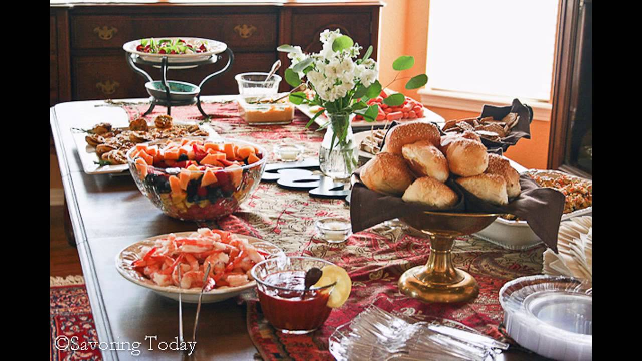 awesome wedding shower food ideas youtube