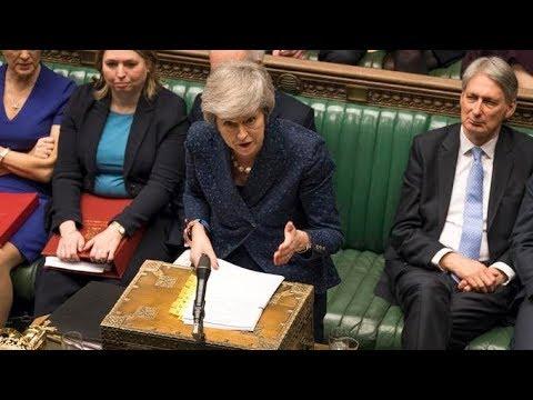 Theresa May addresses