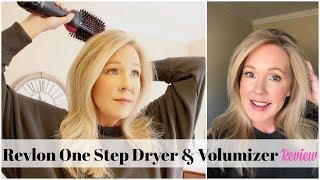 Revlon One Step Hair Dryer & Volumizer Review/Demo + Pros & Cons