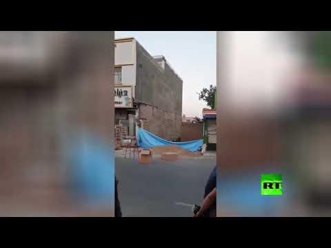 لحظة انهيار مبنى سكني في طهران  - نشر قبل 3 ساعة