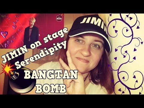 [BANGTAN BOMB] Jimin sings 'Serendipity' @BTS COUNTDOWN REACTION