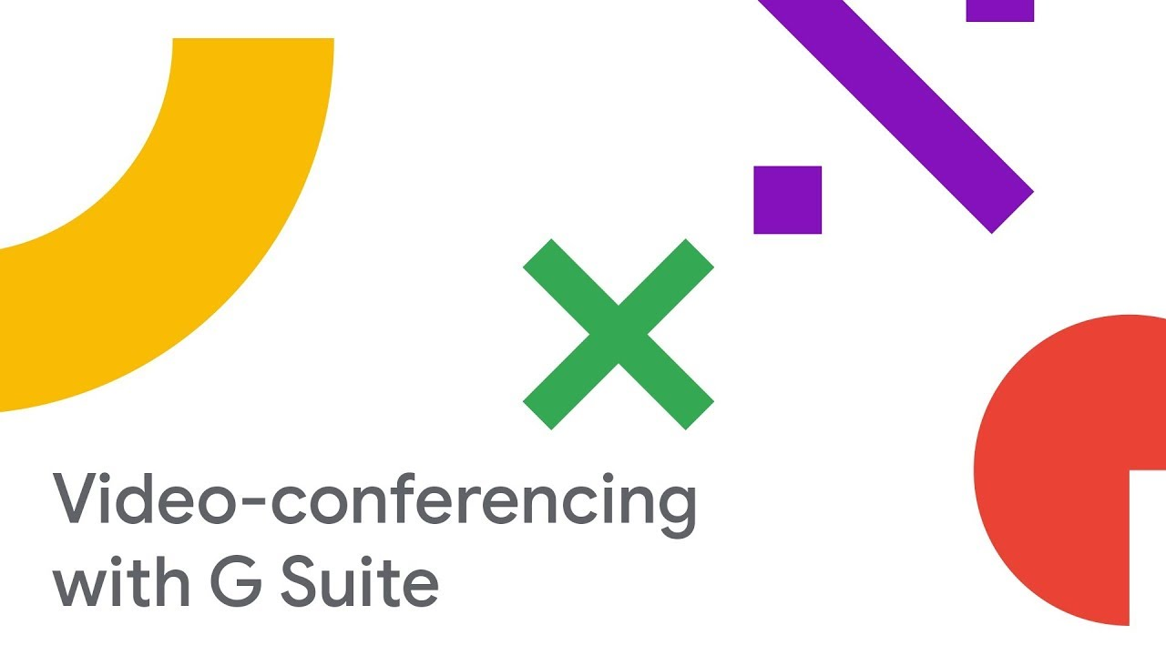 Maximize ROI of Your Meeting Rooms and Video-Conferencing with G Suite (Cloud Next '18)