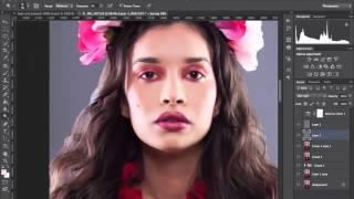 Обработка бьюти портрета в Photoshop