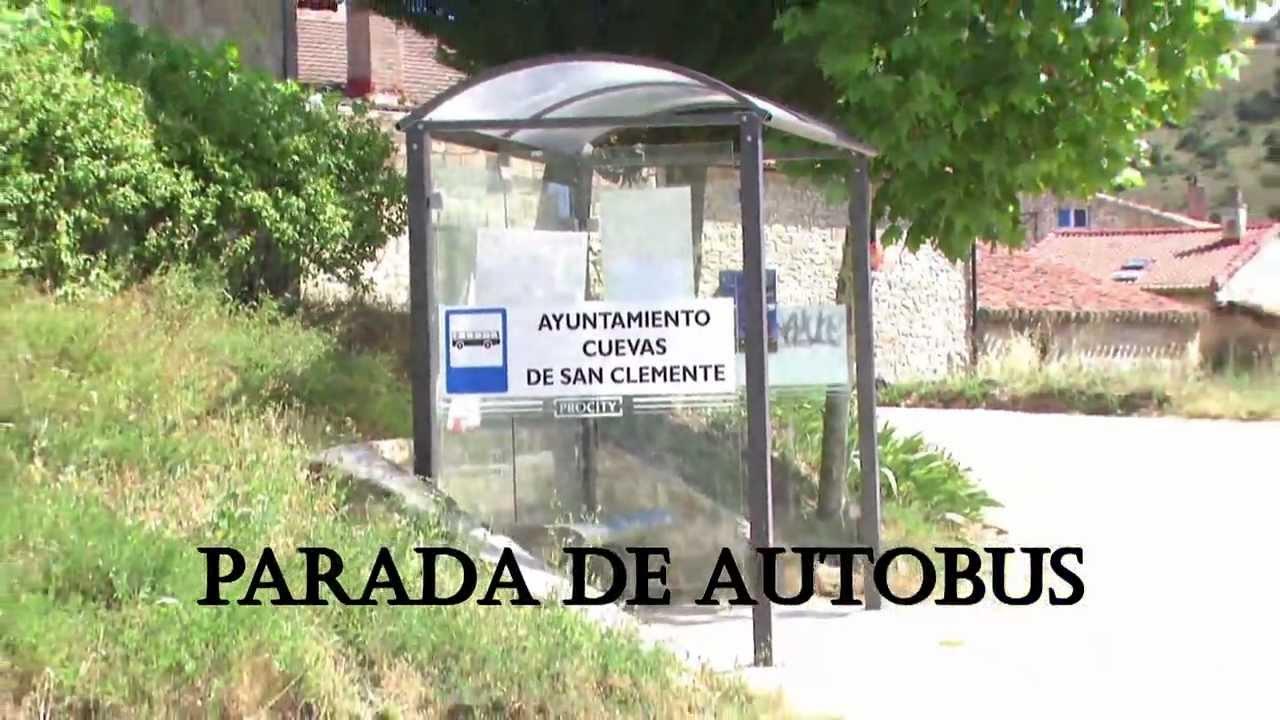 Parada autobus cuevas de san clemente casa rural youtube - Casa rural leocadia y casa clemente ...