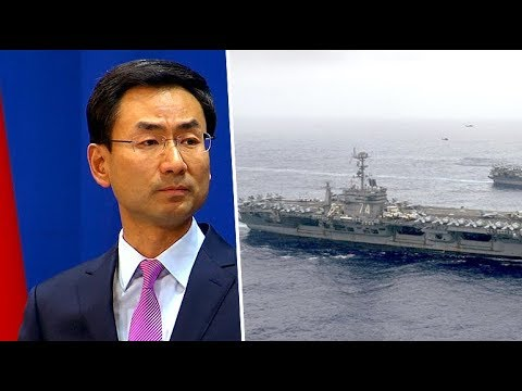 China expresses concerns over US navy ships passing through Taiwan Strait