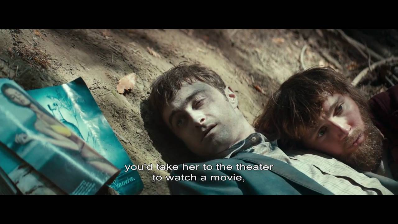 A Great Scene From Daniel Radcliffe S Swiss Army Man Youtube