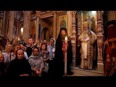 From Jerusalem to Damascus to Moscow, Orthodox Christians celebrate Easter