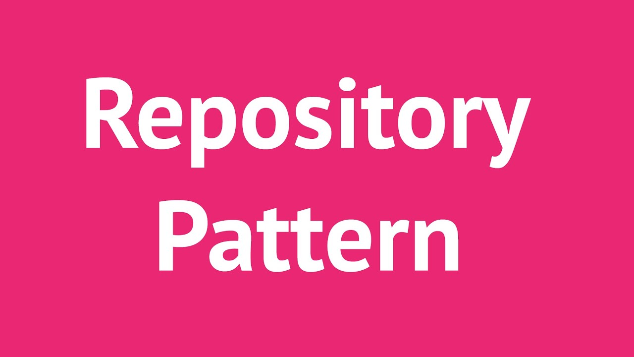 Repository Pattern C Amazing Inspiration Design