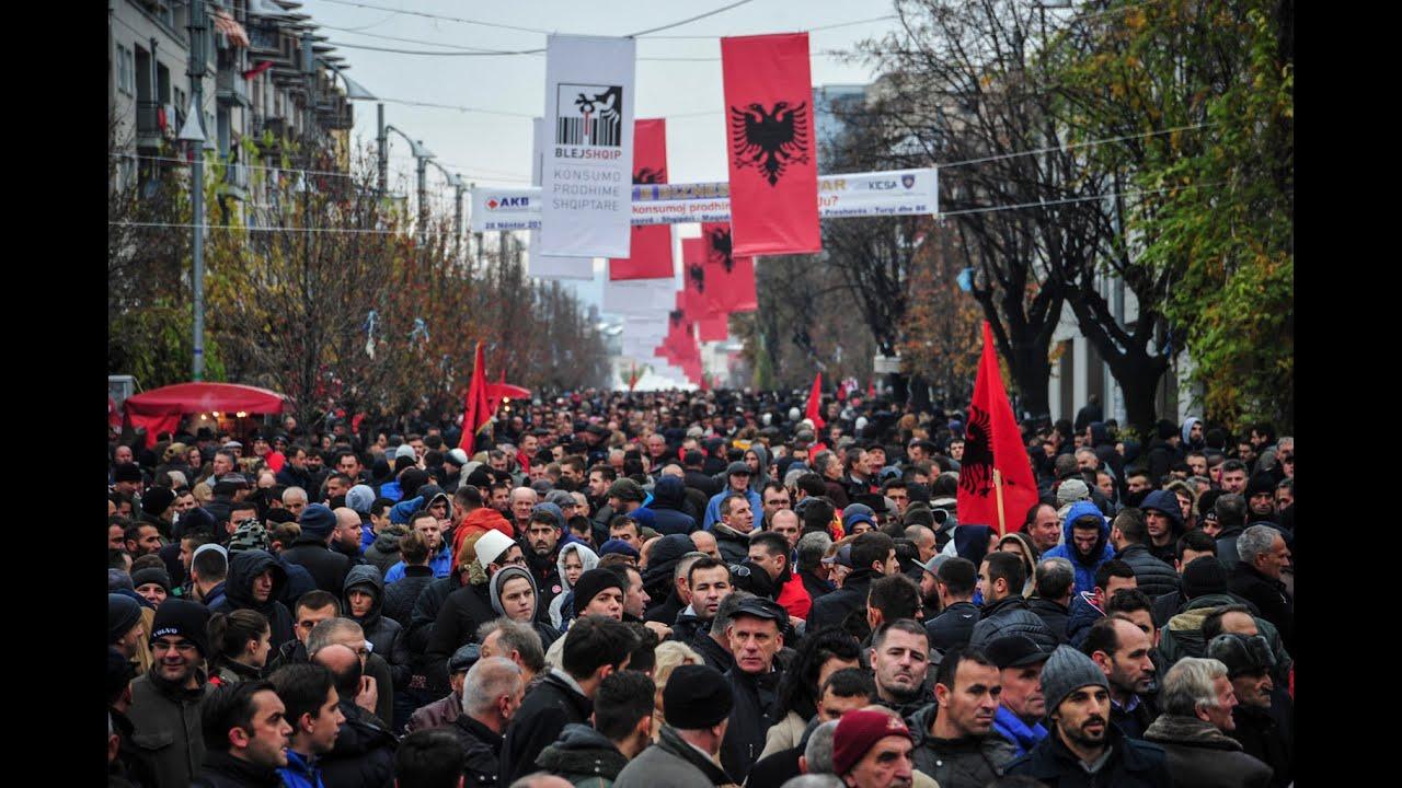 #KallxoLive: Manifestimi Opozitar i 28 Nëntorit