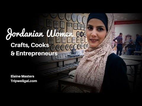 Jordanian women - Crafts, cooks and entrepreneurs