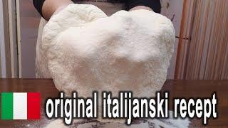 pizza testo original italijanski recept